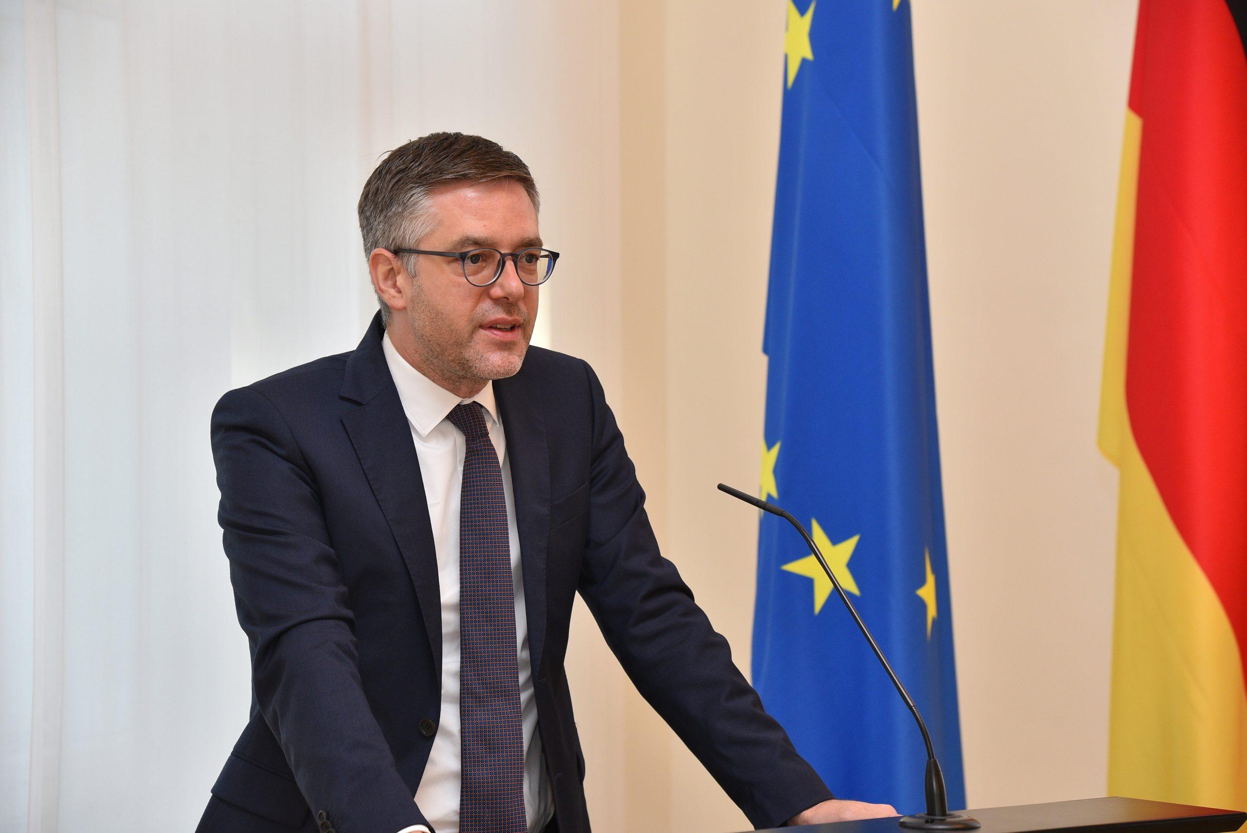Chef der Staatskanzlei Fabian Kirsch